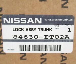 Genuine OEM Nissan 84630-ET02A Rear Trunk Lock Latch Lid Actuator 2007-12 Sentra