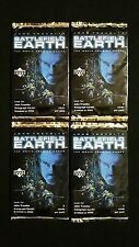 2000 Upper Deck Battlefield Earth Trading Card Pack 4 Pack Lot