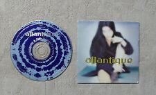 """CD AUDIO MUSIQUE PROMO / ATLANTIQUE """"ATLANTIQUE"""" CDM 4T 1994 CARDSLEEVE"""