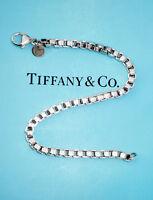 Tiffany & Co Venetian Link Sterling Silver Bracelet 7.5 Inch
