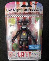 🔥🧸🔥Five Nights at Freddy's Lefty Walmart excl Funko rare action figure FNAF