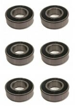 (6) BEARINGS for Snapper 7046555 7046555YP Briggs & Stratton 99157 Lawn Mower