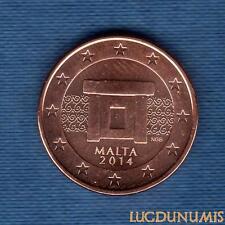 Malte 2014 - 5 Centimes D'Euro - Pièce neuve de rouleau - Malta
