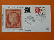 stamp on stamp Ceres mythology Philexfrance 1999 FDC 31658