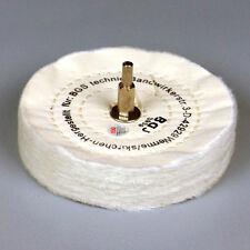 BGS Polierscheibe Polier Scheibe Baumwolle Politur Aufsatz 125 mm.