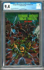 Teenage Mutant Ninja Turtles The Movie #nn (1990) CGC 9.4  White Pages  Laird