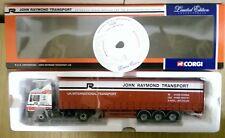 Corgi 75807 MAN Curtainside John Raymond Transport Ltd Ed 0005 of 2600
