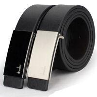 New Mens Automatic Buckle Leather Formal Waist Strap Belts Buckle Belt Hoc PP