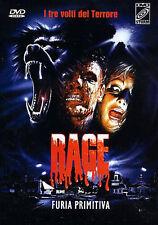 Primal Rage NEW PAL Cult DVD Vittorio Rambaldi Patrick Buxton Bo Svenson P. Lowe