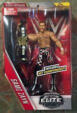 Mattel WWE elite Sami Zayne series 40 figura NXT Cinturón de Campeón