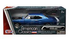 MOTOR MAX 1/24 AMERICAN CLASSICS 1969 DODGE CORONET SUPER BEE DIECAST CAR 73315