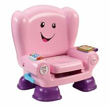 Fisher- Laugh and Learn Smart Stages Chair Pink With Songs for 12 Months up