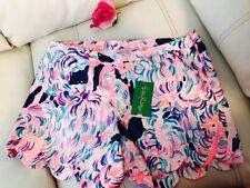SZ 8 -$68 NWT Lilly Pulitzer Magnolia Shorts Pelican Pink Head In The Sand