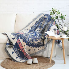 kilim rugs cotton turkish rug tapestry tassel throw sofa blanket Navajo gypsy