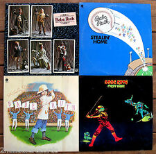 BABE RUTH-Lot Of 4 Rock Beautiful Albums-BABE RUTH & FIRST BASE On HARVEST Label