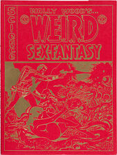 Weird Sex-Fantasy Portfolio SIGNED by Wall Wood #1467/2000  VF+
