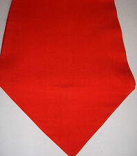 Table runner RED 140cm x 25cm Valentines Day decoration gift pointed ends