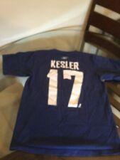 Vancouver Canucks Ryan Kesler Blue Reebok Jersey T-Shirt Medium Good Condition