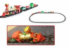 NEW GIFT CLASSIC ELECTRIC RAIL TRAIN KIDS CHILD BABY TRACK GAME TOYS PLAYSET