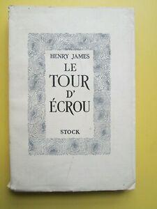 Henry James - Le tour d'écrou - Edition limitée sur papier Alfa - Stock 1947