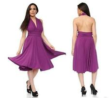 Acrylic Petite Sleeveless Dresses Midi for Women