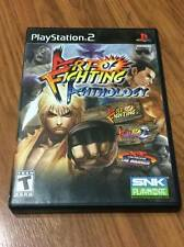 Art of Fighting Anthology (Sony PlayStation 2, 2007) Missing Manual