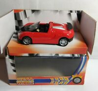 FUNTASTIC REAL WHEELZ 1:43 SCALE DIECAST SPORTS CONVERTIBLE - 138060 - BOXED