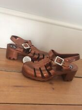Juju Jelly Shoes Sandals Original Metallic Bronze UK Size 4 Brand New With Tags