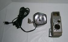 Vintage Bell & Howell Two Twenty 8mm Movie Film Camera + Light + Film