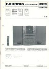 Grundig Service Anleitung Manual M 26  B801