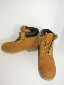 NEW Timberland Wheat 6 Inch Basic Padded Collar Boots 18094 Men Size 10 M