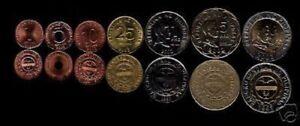 PHILIPPINES 1 5 10 25 1 5 10 PESO BI METAL 2000-2005 UNC COMPLETE MONEY COIN SET