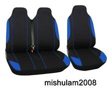 Sitzbezüge Schonbezüge  Y2+1 Blau Schwarz für Hyundai Iveco Kia Mazda Mitsubishi