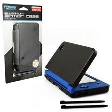 Nintendo DSi XL Aluminum Armor Case & Dual Stylus Set - Cosmo Black