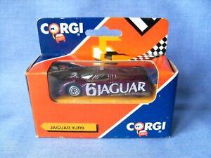 Corgi Juniors Jaguar XJR9 - Purple & Gold - Race Number 6 - Mint Boxed 1990.