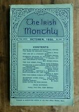 """The Irish Monthly"" ORIGINAL 65 Page Poems Booklet Gill & Son Dublin Oct.1930"