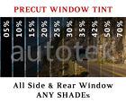 All Precut Sides Rears Window Tint Kit Computer Cut Glass Film Car Any Shade