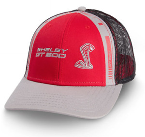 Official Ford Cap Shelby GT500 Red/black and grey design with Mesh backing