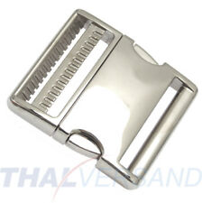 Metall Steckschnalle Steckschließer 50mm Aluminium Alu 4002 Alu-Max f. Gurtband