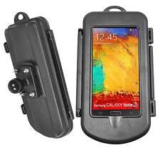 """Wasserdichtes Hardcase für Smartphone (Größe L) mit RAM Mount Kugel 1"""" Zoll"""