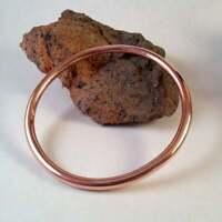 """Estate & Vintage $6500 Bridesmaids 18k Rose Gold-Stacking Bangle 7.25"""" Bracelet"""