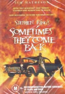 Sometimes They Come Back DVD - Tim Matheson - Stephen King  - New & Sealed