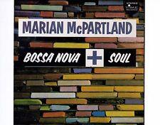 CD MARIAN McPARTLAND bossa nova + soul US