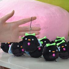 Touhou Project Reiuji Utsuho Cosplay Black Bird Plush Doll Pendant 6.5cm