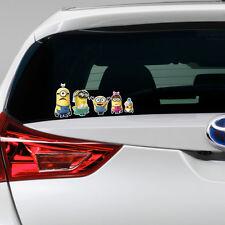 Méprisable Me 2 Minion Autocollant Vinyle famille fenêtre autocollant pare-chocs ma voiture Cadeau