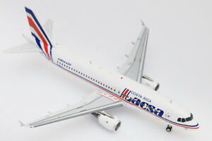 1:200 Inflight200 Lacsa A320-200 N481GX EA320LR1019 with stand