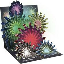 Fireworks  -  Light-up 3D Pop-up Card by Up With Paper