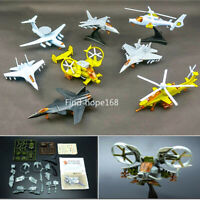 4D Assembly Fighter Airplane Helicopter Model Collection Puzzle Figure 1:165