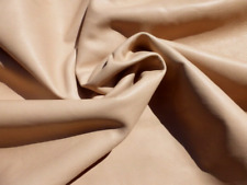 lambskin sheepskin leather hide skin Oat Brown glove soft smooth finish 1.5oz