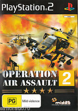 OPERATION AIR ASSAULT 2 PlayStation 2 Game  PS2
